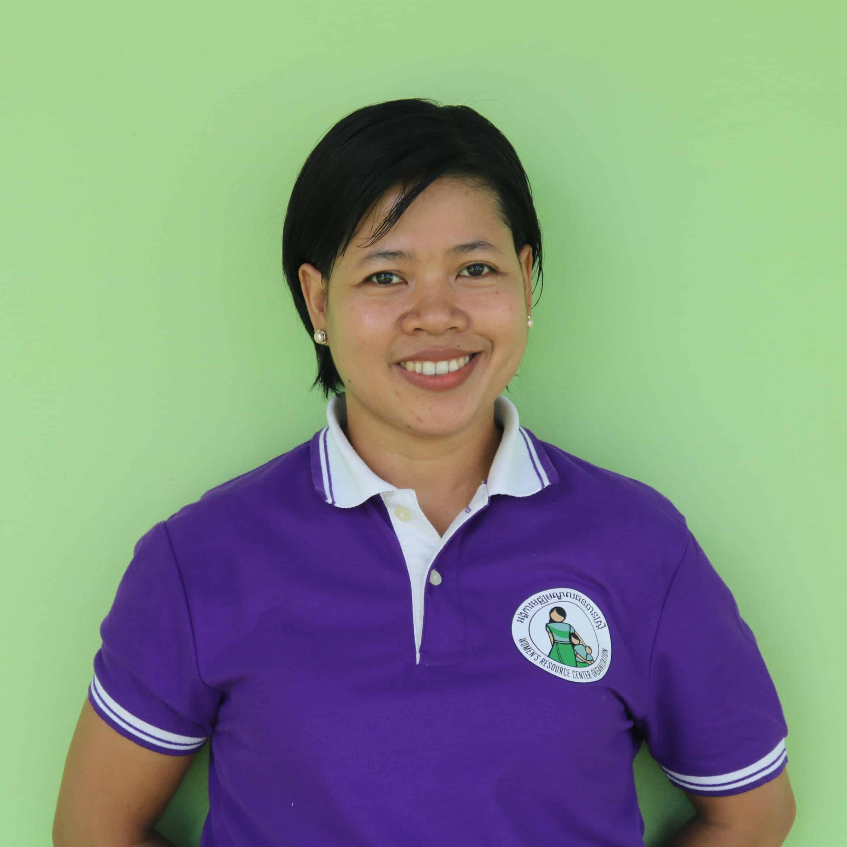Pisey Khim, Program Manager at Women's Resource Center, Cambodia