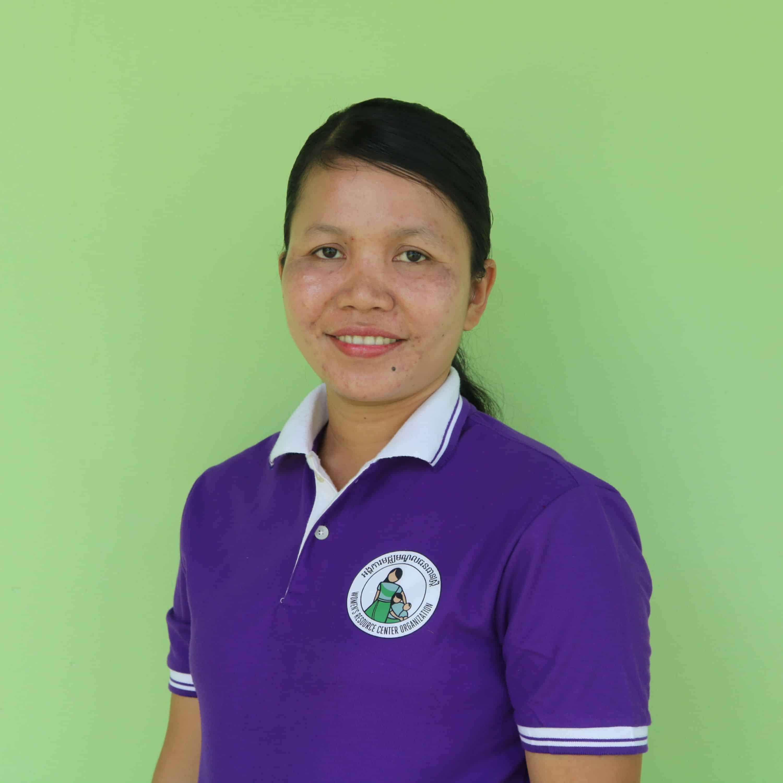 Sreymom Chhoun, Social Worker